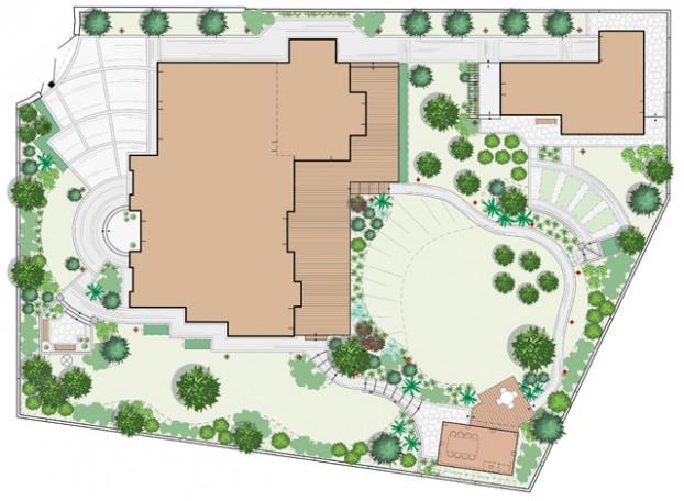 Проект сада Репинская усадьба-2
