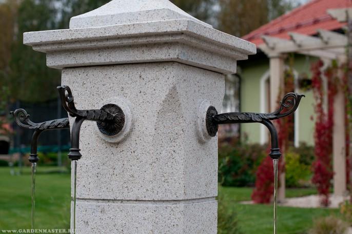Водный источник-колодец