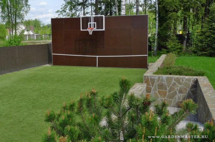 Стенка для тенниса на частном участке